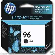 HP 96 (C8767WN#140) Black Ink Cartridge Authentic New Genuine Sealed in Package