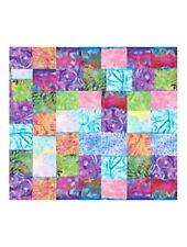"""5""""   BALI BRIGHTS - BATIK  CHARMS Quilt  Squares - Jelly Rolls 2 Go Batik Fabric"""