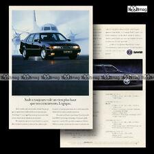 PUB SAAB 9000 CS - Original Advert / Publicité 1992
