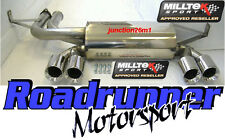 Milltek SSXBM934 BMW M3 E46 Stainless Steel Rear Silencer Exhaust Back Box Coupe