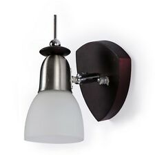 Fos Lighting Wenge Finished Spot Wall Light