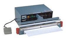 "18"" Impulse Automatic / Manual Sealer 2 mm Heat Seal Plastic Bag Film Sealing"