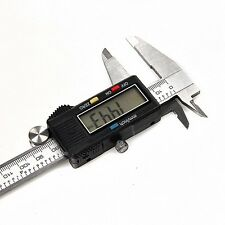 "New 150mm 6"" Electronic Digital LCD Steel Vernier Caliper Gauge Micrometer Tool"