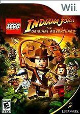 Lego Indiana Jones Nintendo Wii Video Games-Good Condition