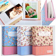 "4R 6"" 100-Pocket Picture Album Case Photo Storage Baby Wedding Family Memo C"