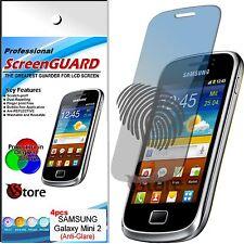4 Pellicola Opaca Per Samsung Galaxy Mini 2 S6500 Antiriflesso Antimpronta