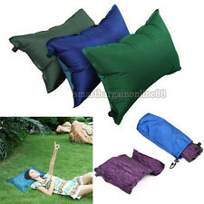 Automatic Inflatable Air Cushion Pillow Portable Outdoor Travel Camping Tool Kit