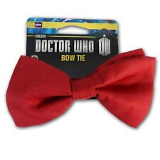 Doctor Who 11th Doctor Red Bowtie BBC Licensed Bowtie