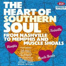 The Heart Of Southern Soul: From Nashville To Memphis And Muscle Shoals (CDCHD 5