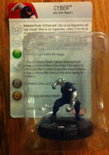 CYBER #208 Wolverine and the X-Men Marvel Heroclix gravity feed microset W/CARD