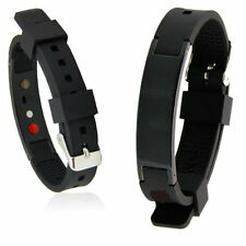 Magnetic Golf Bracelet - Magnet - Engery - Band - Ion - Black - Power Wristband