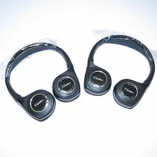 2 NEW PREMIUM GM FOLD HEADPHONES Cadillac SRX 2009 2010 2011 2012 2013 2014 2015