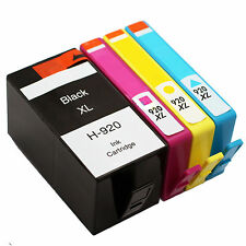 4 REMAN ink for HP 920XL BKCMY Ink Cartridge For Officejet 6000 6500 7000
