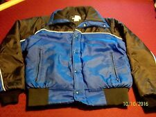 Vintage Midwest Fox Point Men's Snowmobile - Winter Jacket Quilted Lined Size M