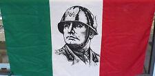 MUSSOLINI  BEAUTIFUL FLAG FASCIST  WW2