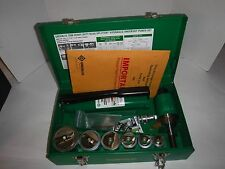 NEW Hydraulic Punch Driver Set, Greenlee, 7506(P)