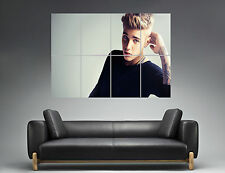 JUSTIN BIEBER Wall Art Poster Grand format A0 Large Print