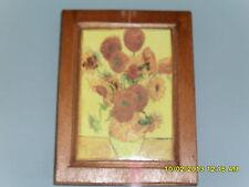 STAMPA SU LEGNO Riproduzione Van Gogh, Vincent –  Vaso con 12 girasoli 1888