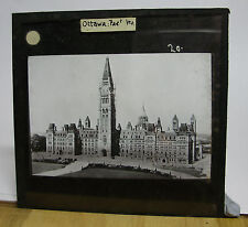 OTTAWA PARLIMENT HOUSE ~ Canada Glass Lantern Photo Slide