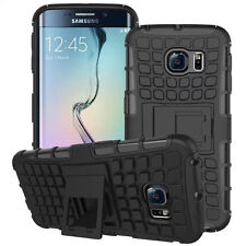 Samsung Galaxy S6 Edge armor defender kickstand thick protection cover case body