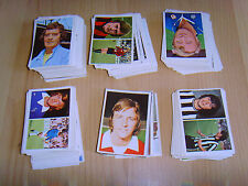 football cards stickers FKS UK Soccer Stars 1976/77 - you choose 10