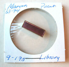 1950s Senior Aide Bar MAROON Girl Scout Pin Volunteer Service to LIBRARY