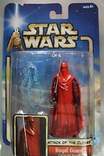 Hasbro 2002 Star Wars Attack Of The Clones ROYAL GUARD CORUSCANT SECURITY