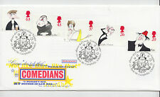 GB 1998 Post Office First Day Cover COMEDIANS  CAERPHILLY  Cancel Unaddressed
