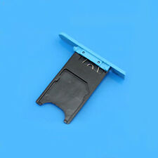 New SIM Card Holder Slot Tray Cover Replacement Parts For  Nokia Lumia 800 Blue