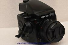 Mamiya M645 PRO Medium Format Film Camera c/w 80mm N + AE Prism + 120 back 645