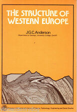 Structure of Western Europe by J.G.C. Anderson (Paperback, 1978)