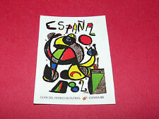 AFFICHE ESPAÑA 82 RECUPERATION PANINI FOOTBALL MEXICO 86 WM 1986