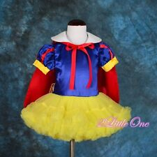 Snow White Fancy Dress Cape Dance Costume Party Halloween Baby Girl 12-24m #031
