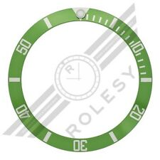 50th Anniversary Green Aluminum Bezel Insert for Rolex Submariner 16610LV 16610