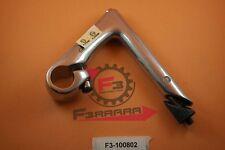 F3-1100802 Piantone Manubrio 22.2 FIXED 100 mm Alluminio SILVER Ciclo Bicicletta