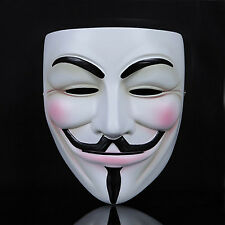 Adult Cosplay Mask V for Vendetta Guy Fawkes Anonymous Fancy Resin Costume Party