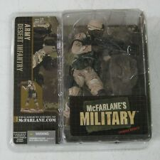 McFarlane's Military Army: Desert Infantry (African American) - FACTORY SEALED
