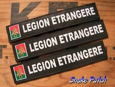 Patch ...:: LEGION ETRANGERE ::... LOT 3 BANDES PATRONYMIQUES REI REP name tape