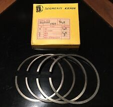 NOS BENELLI MOTOBI 250cc BARRACUDA + SS FIRST OVER SIZE STANDARD PISTON RING SET