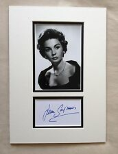 Hand Signed 14x10 JEAN SIMMONS - SPARTACUS + COA