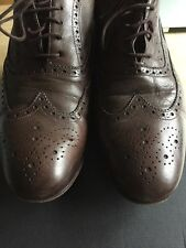 Paul Smith Men's Men's Dip Dye Brown Leather Miller Brogues RRP £265 UK 8.5