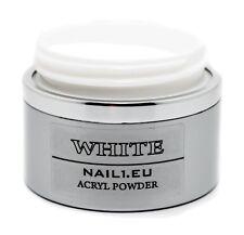 """Acryl Pulver """"Extra Weiß"""" 50 ml/41g Acrylpulver Acrylpuder Powder Puder"""