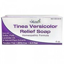 Naturasil Homoeopathic Remedies Soap for Tinea Versicolor, 4 Ounce, New