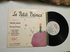 "10"" 33 RPM, Le Petit Prince, Gerard Philipe & George Poujouly, 1954, VG+"