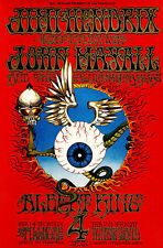 Jimi Hendrix Experience Flying Eyeball Fillmore A2 Concert Canvas Print