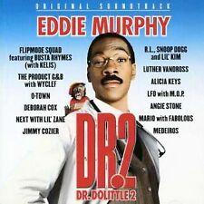 Dr. Dolittle 2 Original Soundtrack CD Eddie Murphy Alicia Keys Luther Vandross