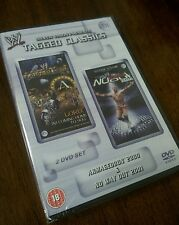 NEW WWE WWF Tagged Classics Armageddon 2000 & No Way Out 2001 DVD ULTRA RARE