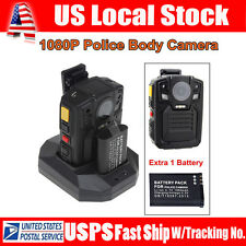 Infrared Night Vision HD 1080P Police Body Worn Video Camera Security IR Cam 32G