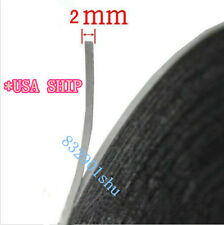 USA-Black 3M Sticker glue tape Adhesive Repairing LCD Digitizer Touch Screen 2MM