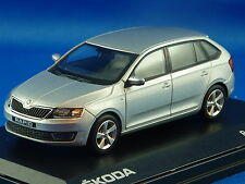 1/43 SKODA  Rapid Spaceback,Siver Brilliant Metalic,